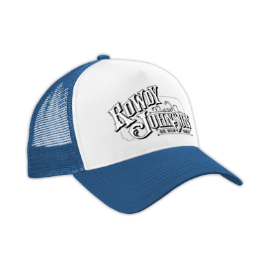 Rowdy Johnson Logo Trucker Cap