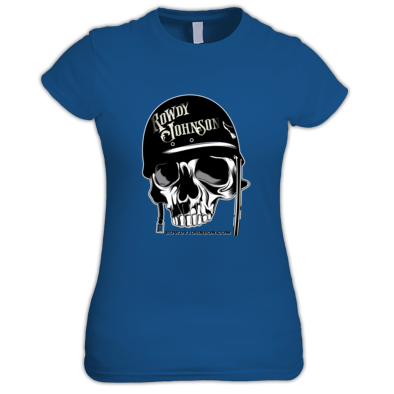Official Biker Skull (Ladies T-Shirt)