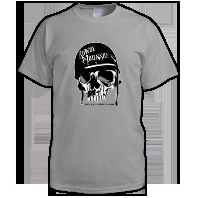 Official Rowdy Johnson Biker Skull (Men's T-Shirt)