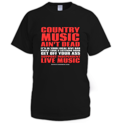 Country Music Ain't Dead (Men's T-Shirt)