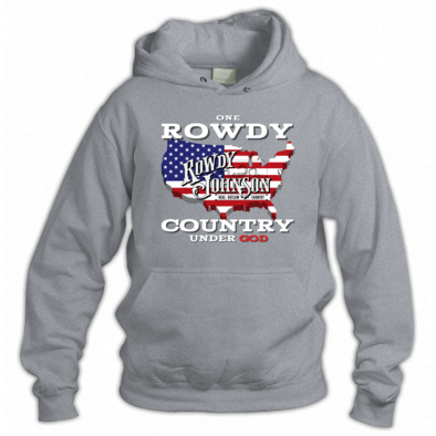 "Official ""One Rowdy Country Under God"" (Hoodie)"