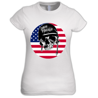 Official Rowdy Johnson USA (Ladies T-Shirt)