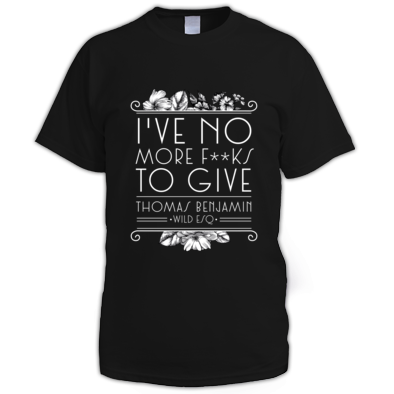 I've No More F***s To Give - Men's T-Shirt