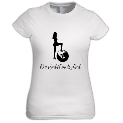 One World Country Girl Design #178918