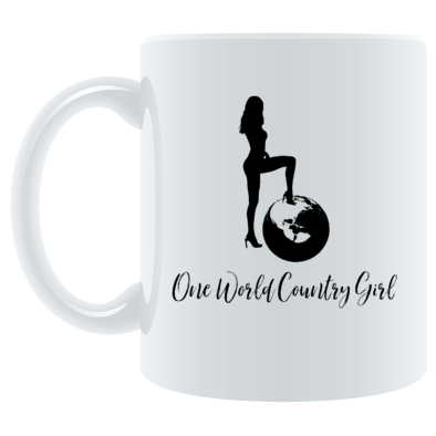 One World Country Girl Design #178920