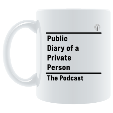 Public Diary of a Private Person mug