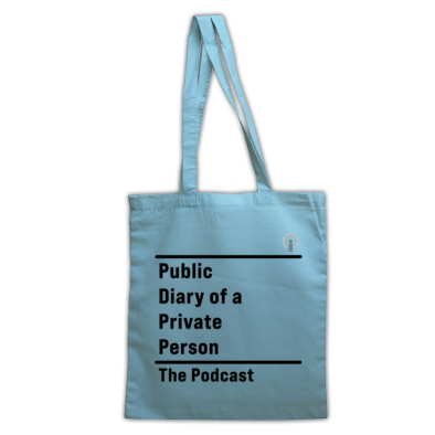 Public Diary of a Private Person tote bag