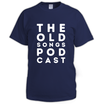 The Old Songs Podcast T-Shirt, Mens