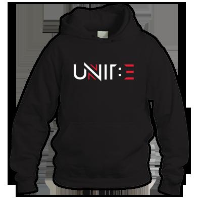 Unit: E Hoodie Logo White
