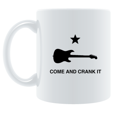 Six Miles to Empty Come and Crank it on Coffee Mug