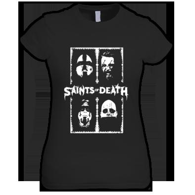 """Saints of Death """"Faces"""" Women's Tee"""
