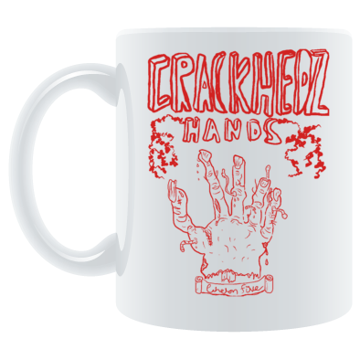 CRACKHEADZ HANDS MUG
