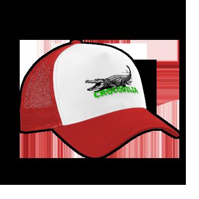 Trucker Hat - Green Font