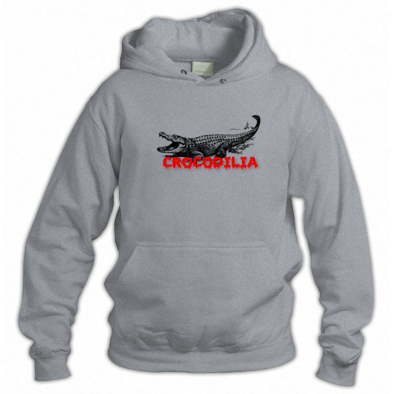 Hoodie - Red Font