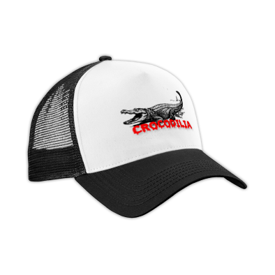 Trucker Hat - Red Font