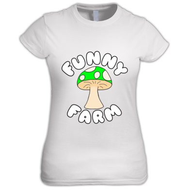 Funny Farm Logo Women's T