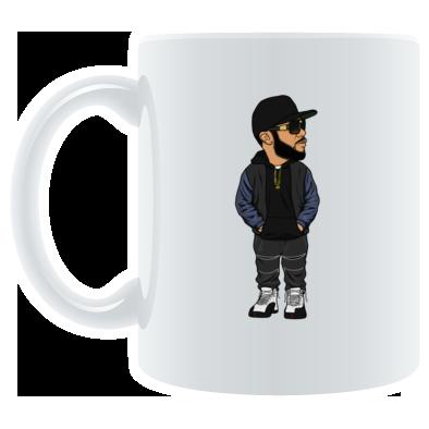 The indie G.O.A.T line Mug