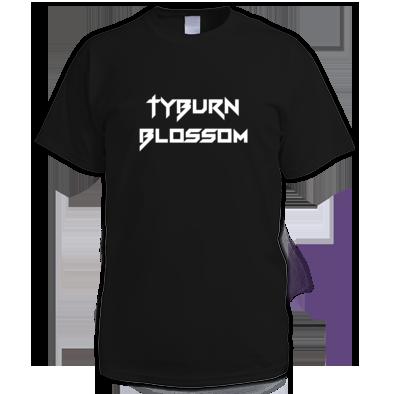 Tyburn Blossom - logo 'stark Gothic'