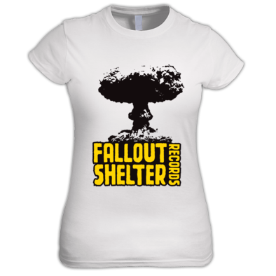 Fallout Shelter Records Women's T-Shirt
