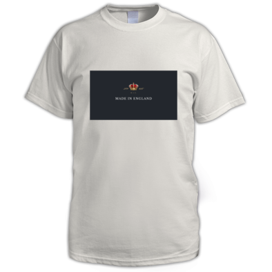Made In England Clothing Design #191009