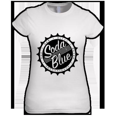 Soda Blue Plain Ladies Shirt