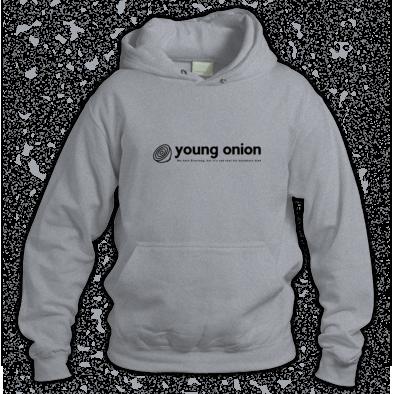 young onion - everlong logo hoodie