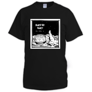 Dumpster Hump Fire Crotch EP T-Shirt Black