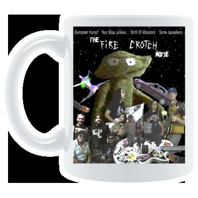 Dumpster Hump Fire Crotch Movie Poster Mug