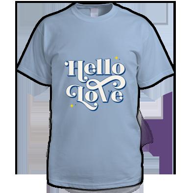 Hello Love Men's T-Shirt