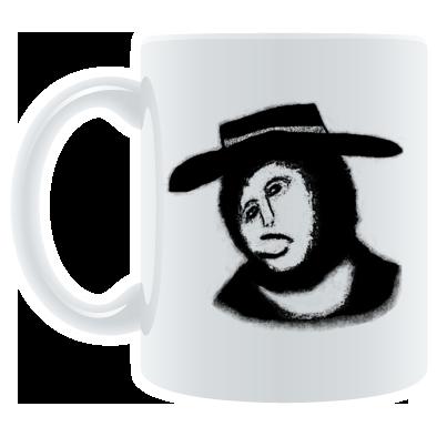 The Reverend Sam mascot design #1