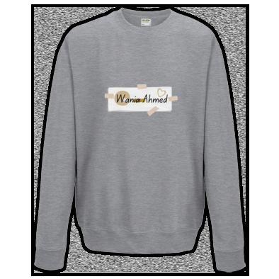 Wania Ahmed scrapbook logo sweatshirt (various colours)