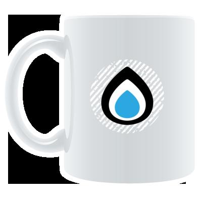 Liquid Drops Mug