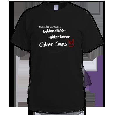 Colder Suns - Naming Mens T-Shirt