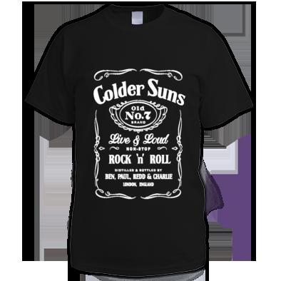 Colder Suns - No7 Mens T-Shirt