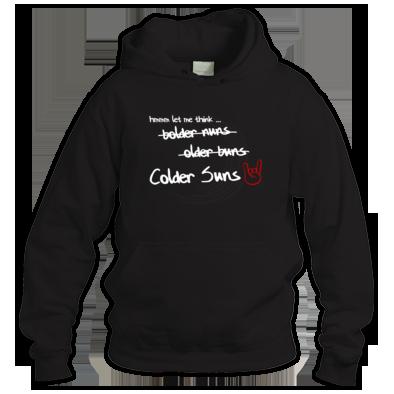 Colder Suns - Naming Unisex Hoodie
