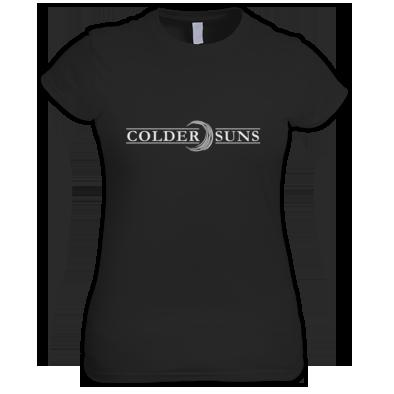 Colder Suns - Logo Ladies T-Shirt