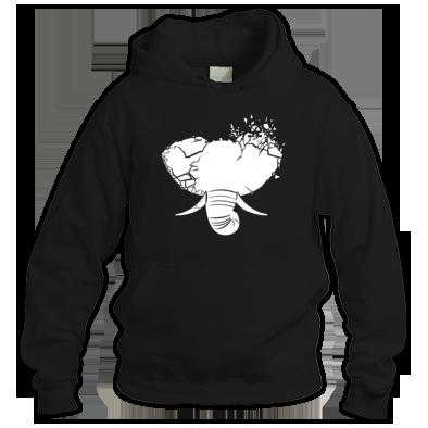 White Elephant Unisex hoodies