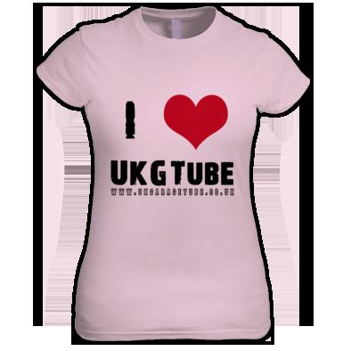 I Love UkGTube Women's Tee