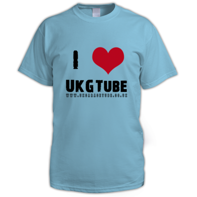 I Love UkGTube Men's Tee