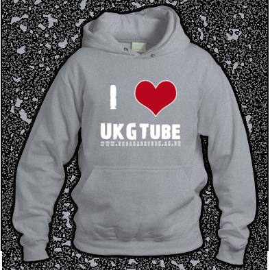 I Love UKGTube Unisex Hoodie