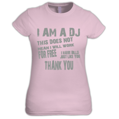 I am a DJ Women's Tee