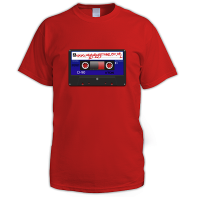 UKGTube Cassette Logo Men's Tee (Colour)
