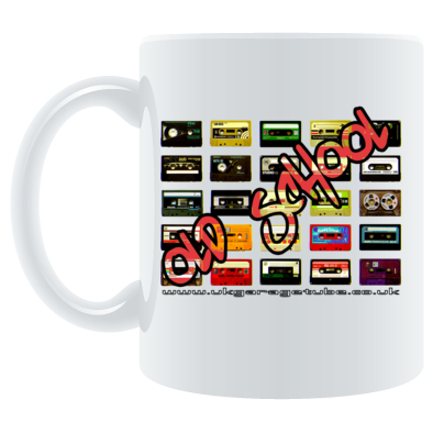 Old School Tapes Mug