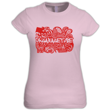 Abstract Hand Drawn Logo Women's Tee