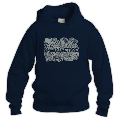 Abstract Hand Drawn Logo Unisex Hoodie