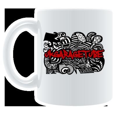 Abstract Hand Drawn (Filled) Logo Mug