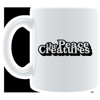 Peace Creatures Logo Mug