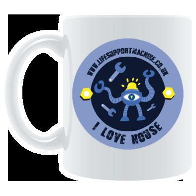 I Love House Mug