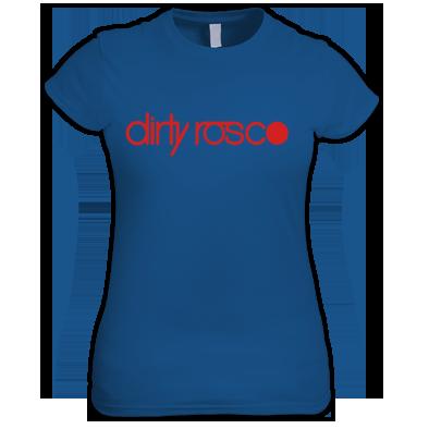 Dirty Rosco logo women's t-shirt