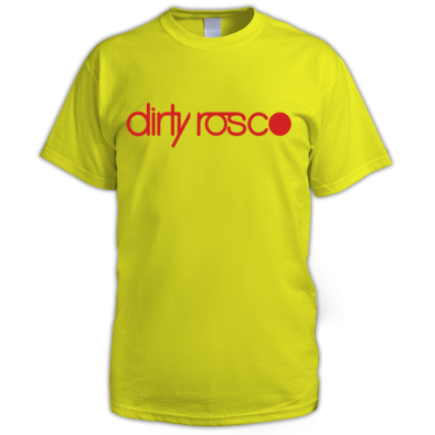Dirty Rosco logo t-shirt
